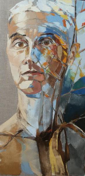 Autoportrait - 40x80 cm