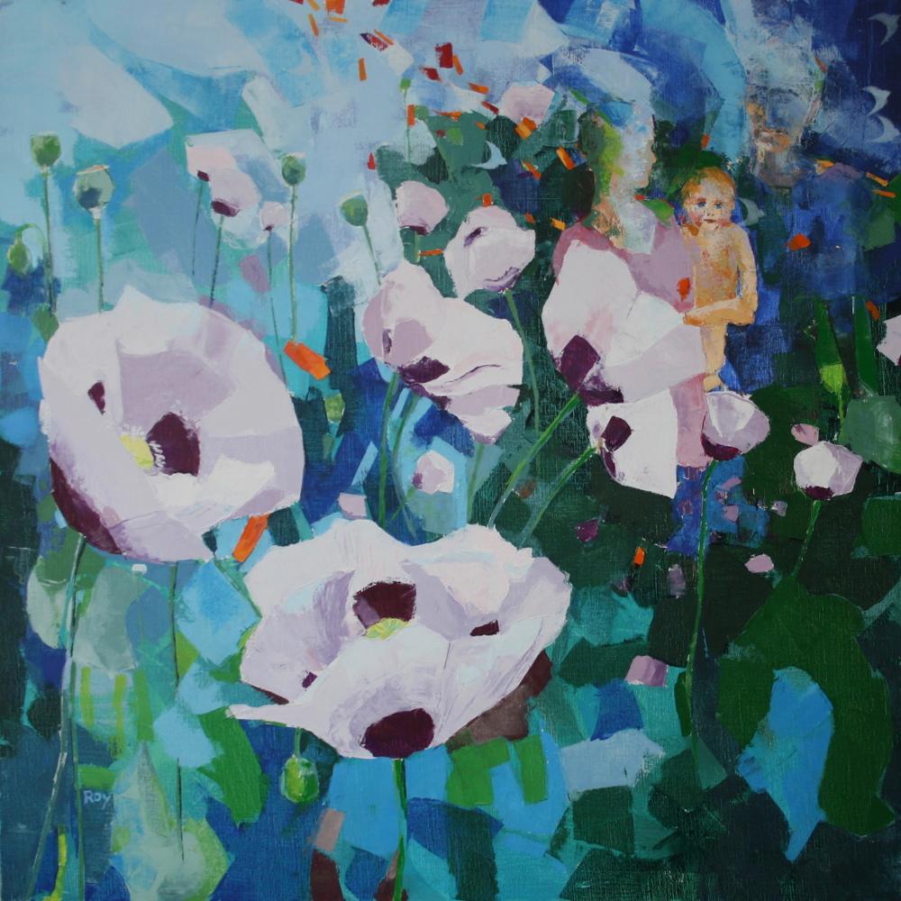 Confiance2 (les fleurs des champs) 100x100