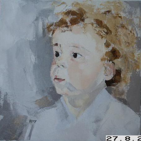Enfant - 40x40 cm