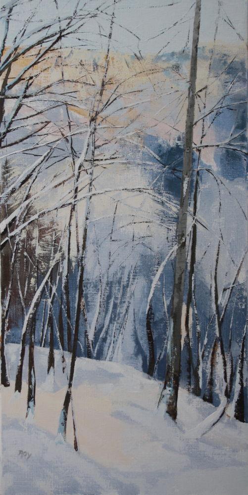 Neige janvier 2 40x80