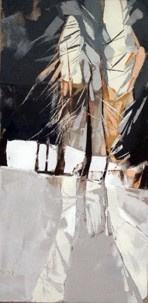 Sapins et Mélèzes - 30x60 cm