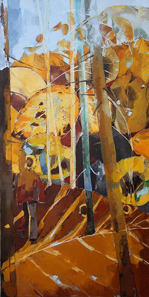 Sur l'automne - 60x120 cm